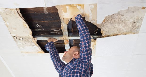 The joists between apartments are sometimes considered part of the building fabric in insurance policies