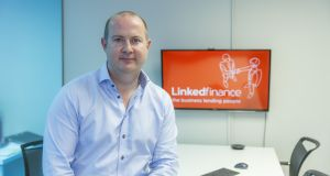 Niall Dorrian, chief executive of Linked Finance.