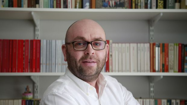 Dr Lorcan Sirr, lecturer in housing and author of Housing Ireland: the A-Z Guide. Photograph: Nick Bradshaw/The Irish Times