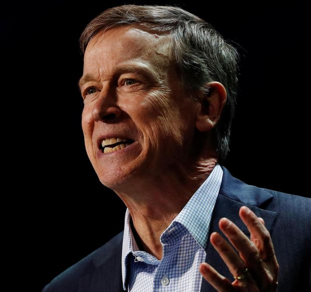 John Hickenlooper: 'Sometimes you have to talk to Republicans' Photographer: Stephen Lam/Reuters