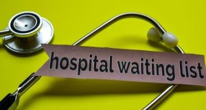 Outpatient waiting lists are up more than 40,000 since the end of last year. Photograph: iStock