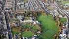 An aerial view of the Drumcondra portfolio.