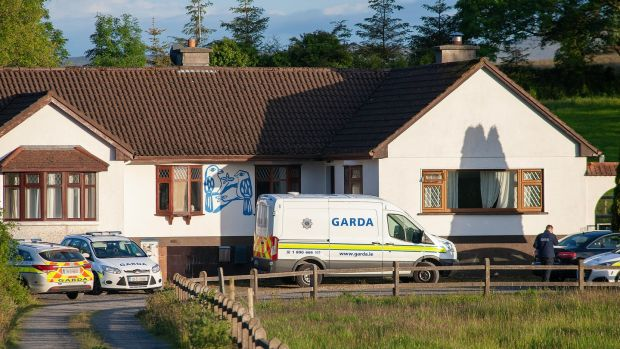 The body of a woman was found in a house at Kilbree, Westport, Co Mayo on Friday morning. Photograph: Michael Mc Laughlin