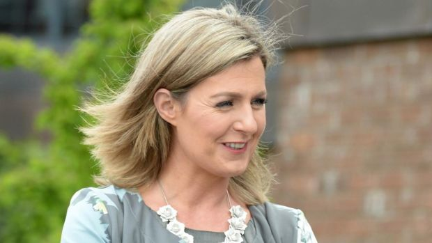 Maria Bailey TD alleged she had suffered injuries after falling from a swing in the Dean Hotel in July 2015. File photograph: Dara Mac Dónaill