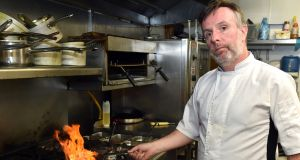 "Liam Edwards, owner of Jim Edwards restaurant, Kinsale, Co Cork. ""I'm seeing restaurants closing a few days a week because they don't have the staff or they're trying to keep them fresh,"" he says. Photograph: Provision"