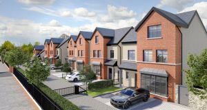 An artist's impression of the Old Navan Road residential scheme approved by Fingal County Council