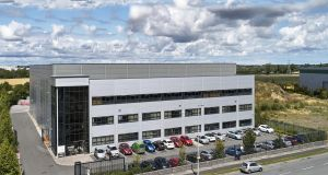 The    unit in  Northwest Business Park has come to the rental market