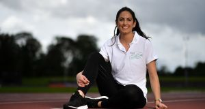 At the launch of the Irish Life Health Festival of Running is Jessie Barr. Photo: Brendan Moran/Sportsfile