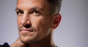 Peter Andre today. Photograph: David Levene/Guardian