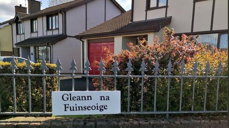Council tells pensioner (85) she faces prosecution over Irish language sign