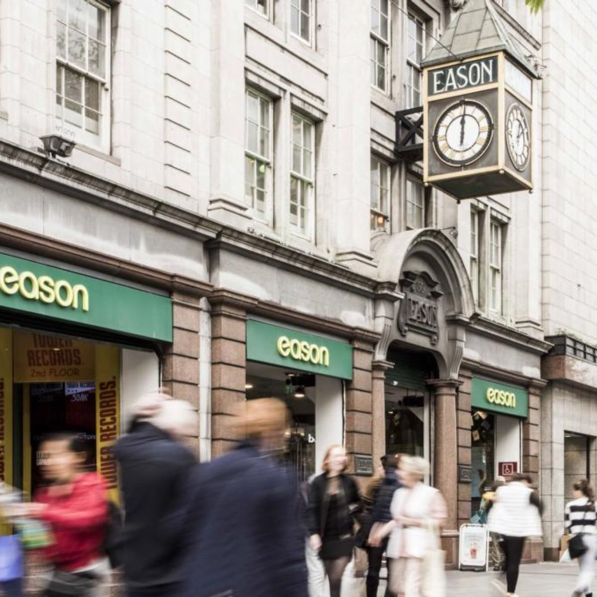 Eason puts flagship O'Connell Street shop on market at €24 5m