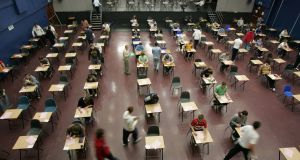 Some students in Tuesday's Leaving Cert exam complained about the audio quality in the Spanish exam.  Photograph: Frank Miller