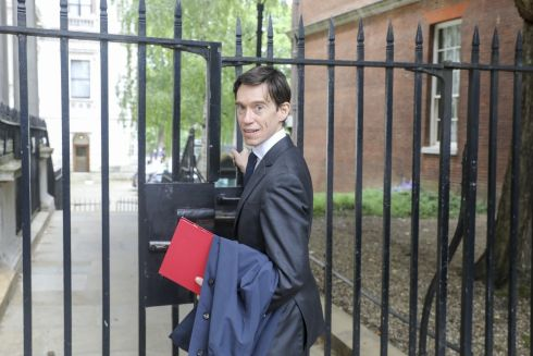 RECONNAISSANCE MISSION: Rory Stewart leaves number 10 Downing Street following a weekly meeting of cabinet ministers. He is one of the leading contenders to replace Theresa May as leader of the Conservative Party. Photograph: Simon Dawson/Bloomberg