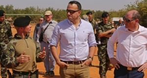 Taoiseach Leo Varadkar visits Irish troops in Mali in January