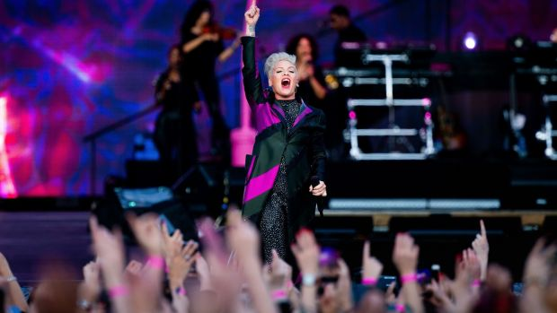 Pink at the RDS, Dublin: Powerhouse vocals, pyrotechnics and a
