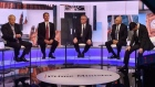 British PM hopefuls clash over Brexit and Irish Border
