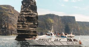 Enjoy a Cliffs of Moher cruise with Doolin Ferry Company.