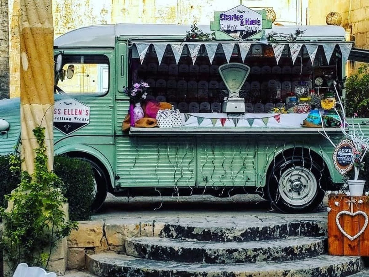 Loading Up A Food Truck And Finding A Market For Traditional Sweets In Malta
