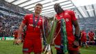 Munster will face Owen Farrell and Maro Itoje when they take on defending European champions Saracens. Photograph: Dan Sheridan/Inpho