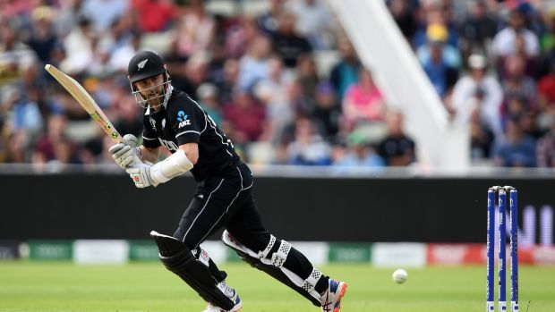 Kane Williamson steered New Zealand past South Africa in Birmingham. Photograph: Alex Davidson/Getty
