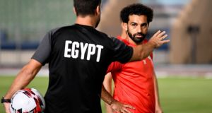 Mohamed Salah's Egypt are hosting the tournament. Photograph: Khaled Desouki/AFP/Getty