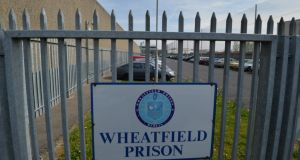 During a search of Gerald Dunne's cell at Wheatfield Prison on November 7th, 2017, officers found an improvised knife under his mattress and a bag of razor blades on a shelf. File photograph: Alan Betson/The Irish Times