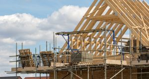 In the first three months of the year planning permissions were granted for 7,493 homes, down from 7,766 a year earlier. Photograph: iStock