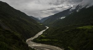 The Dangme river winds through a valley near Mongar, Bhutan. During times of drought glaciers become the largest suppliers of water to Asia's major river basin, a study found. File photograph: Adam Dean/The New York Times
