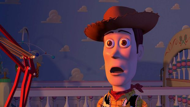 Woody was written as a bit of jerk in the first version of the Toy Story script. Photograph: Disney