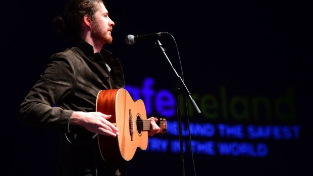 Hozier: One of Lappin's book chapters is a riveting outline of his cat-and-mouse negotiations for the singer's contract. Photograph: Dara Mac Dónaill