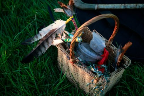 Summer solstice supplies. Photograph: Nick Bradshaw/The Irish Times