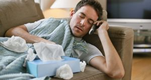 The majority of absences from work are for colds and flus. Photograph: iStock