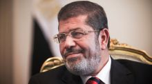 Mohammed Morsi:   died at the age of 67 after collapsing in court during a retrial of charges of espionage. Photograph: Tara Todras-Whitehill/The New York Times