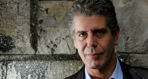 Anthony Bourdain  in Dublin in 2004. Photograph: David Sleator