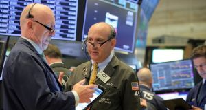 In New York, the S&P 500 hit a new all-time high in early trading on Friday. Photograph: Reuters