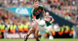 Cillian O'Connor is expected to make his Mayo return against Down. Photograph: Ryan Byrne/Inpho