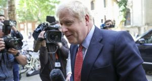 Police were called to the home of Tory leadership contender Boris Johnson and his partner, Carrie Symonds, in the early hours of Friday. File photograph: Chris Ratcliffe/Bloomberg