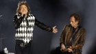 Mick Jagger swaggers back on to stage after heart surgery