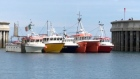 Fishermen blockade Greystones harbour in protest