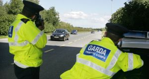 The number of  convictions and penalty points issued for speeding has dropped since 2016. File photograph: Alan Betson