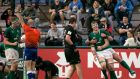 Ireland's Ryan Baird celebrates his try with Josh Wycherley during the  World Rugby U20 Championship seventh-place playoff against New Zealand  in  Rosario. Photograph:  Pablo Gasparini/Inpho