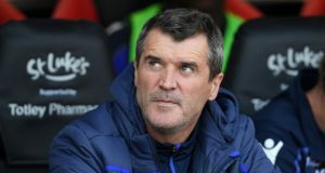 Roy Keane has left his role as assistant manager at Nottingham Forest. Photograph: Ross Kinnaird/Getty