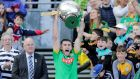 Sean Geraghty lifts the Christy Ring Cup after Meath's win over Down. Photograph: Laszlo Geczo/Inpho