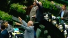 Iranian MPs chant 'Death to America!' as tensions escalate