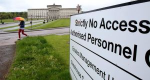 Stormont: Members of the Helsinki Commission will visit it in the course of a three-day trip to Belfast. Photograph: Paul Faith/AFP