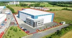 Unit 12 in Ashbourne Business Park was purpose-built for Oasis Document and Data Managment for use as a document-storage facility