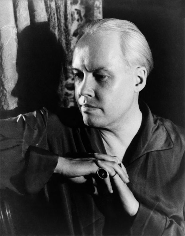 Self portrait of photographer Carl Van Vechten, April 1934: his homosexuality was an open secret throughout much of his life