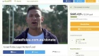 Former Wallabies star's fundraising page has been shut down
