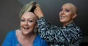 Yvonne and Shannon Kinsella. Photograph: Crispin Rodwell for the Irish Times