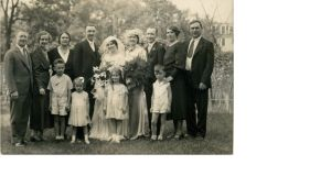 The Coffey/Fenton  family wedding photo from 1933
